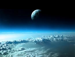 Фотопечать на рольшторах - Космос_23